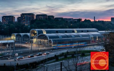 Agadepån nominerad till Trafikverkets arkitekturpris